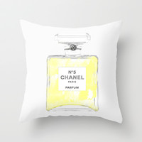 Chanel Throw Pillow by Rui Faria
