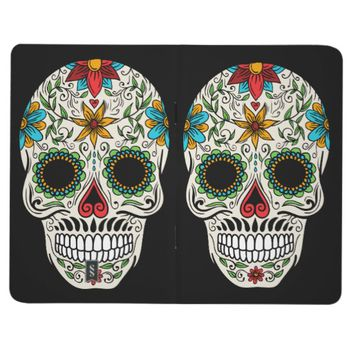 Day Dead Sugar Skull Pocket Journal