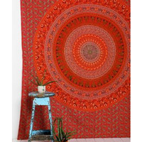 Magical Thinking Magical Thinking Orange Medallion Tapestry from Urban Outfitters | BHG.com Shop