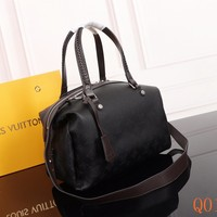 HCXX 19Aug 075 M54672 Louis Vuitton LV Mahina Asteria Tote Bag Hollow Fashion Handbag 36-22-20CM Black