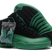 Air Jordan 12 (XII) Hardback Edition Black Green [Air Jordan 12 (XII)] - $86.00 : Jordan 13 Bred|New Jordans Shoes