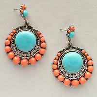 Grecian Isle Turquoise Earrings