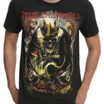 Avenged Sevenfold World Tour 2015 T-Shirt