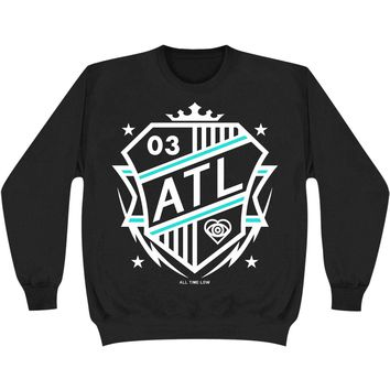 All Time Low Men's  Shield Sweatshirt Black