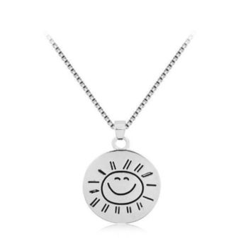 Creative You Are My Sunshine Sun Pendant Necklace Great Gifts