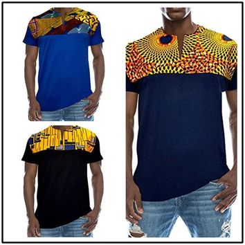 African Pattern Print Style Shirt-Multiple Colors Available