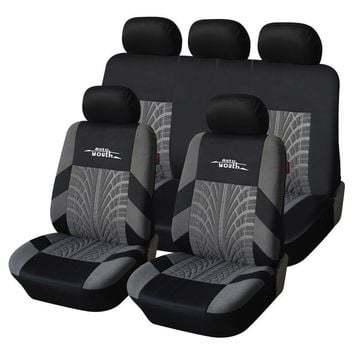 9 Piece: Universal Embroidered Car Seat Covers
