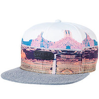 Staple Snapback Hat Mojave Red
