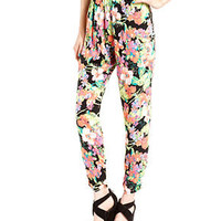 Material Girl Juniors Pants, Floral-Print Harem - Juniors - Macy's