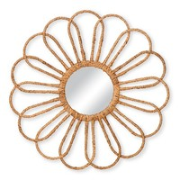 Threshold™ Rope Wrapped Flower Mirror