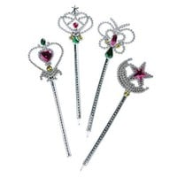 12 Assorted Wand Pens. Fairy & Princess Party Favors