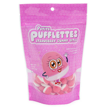 Petite Pufflettes Gummy Bites - Strawberry: 16-Ounce Bag
