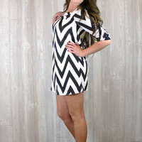 For The Love Of Chevron Dress