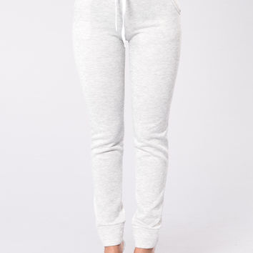 Trend Hogger Jogger - Heather Grey