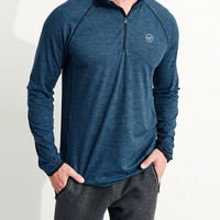 Guys Half-Zip Icon T-Shirt | Guys Clearance | HollisterCo.com