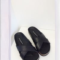 Sabina Sandals- Black