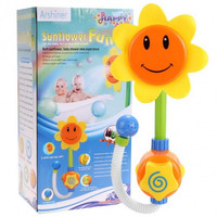 Sunflower Shower Faucet Bath Fun Toys For Baby Kids Water Spraying Taps Bathtub Play Toys Early Educational Toys Gifts