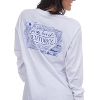 For the Love of Kentucky Tee - Long Sleeve – Lauren James
