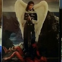 Michael Jackson. Arch Angel Michael. David LaChapelle. Framed. 26.5 x 40.