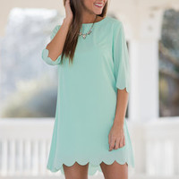 One True Love Dress, Mint