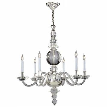 Visual Comfort and Company CHC1154CG Large Crystal George II Chandelier