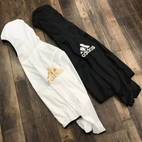 ADIDAS 2018 new men and women couple fashion trend windbreaker F-XMCP-YC