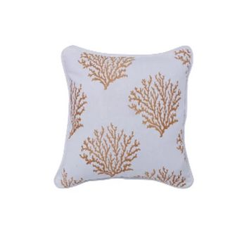 Cowgirl Kim Catalina Coral Accent Pillow~ Saffron Yellow