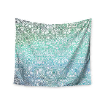 "Pom Graphic Design ""Clouds in the Sky"" Wall Tapestry"