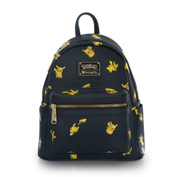 Loungefly x Pokémon Pikachu Print Mini Faux Leather Backpack - View All - Whats New