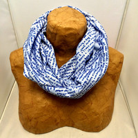 Handwritten Knit Scarf - Doctor Who Quoted