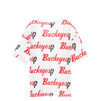 The Ohio State University Shrunken Campus Tee - PINK - Victoria's Secret