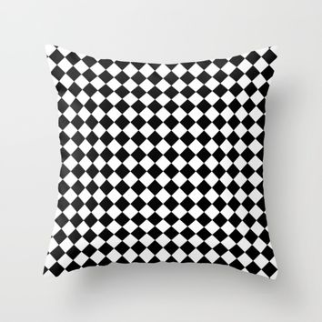 #20 Squares Throw Pillow by Minimalist Forms