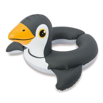 Inflatable Baby Swimming Ring Cartoon Frog Penguin Duck Pool Float Baby Kids Summer Water Fun Pool Toys Child Swim Safety