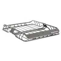 ROOF RACK BASKET, BLACK, WITH WIND DEFLECTOR