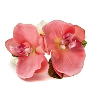 Pink Beauty Orchid Napkin ring - S/4
