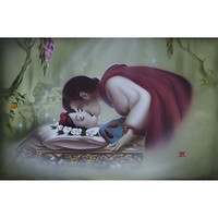 Snow White ''True Love's Kiss'' Giclée by Noah
