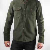 Trailhead Flannel Shirt - Army