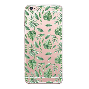 Newest Leaf Case Customized Cover for iPhone 7 7 Plus & iPhone 5s se & iPhone 6 6s Plus + Gift Box-462