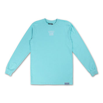 *LTD* Wave Tech Longsleeve Jersey in Light Aqua – Pink+Dolphin
