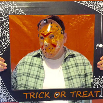 Photo Booth Frame/Halloween Photo Booth Prop/Photobooth Prop/Halloween Picture/Halloween Party/Photobooth Frame Prop