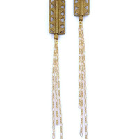 Brass Roots Tribal Earrings