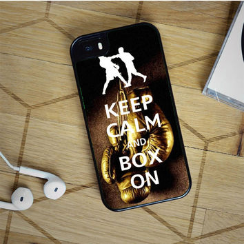 keep calm wwe boxing gloves iPhone 5(S) iPhone 5C iPhone 6 Samsung Galaxy S5 Samsung Galaxy S6 Samsung Galaxy S6 Edge Case, iPod 4 5 case