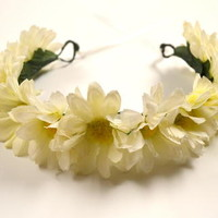 Daisy Crown from J&M Flower Crowns