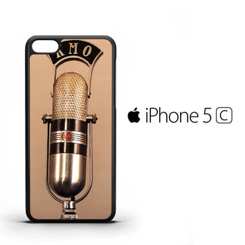 Vintage Radio Microphone On The Air Y2202 iPhone 5C Case