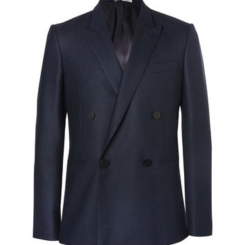 PS by Paul Smith - Navy Double-Breasted Wool Blazer