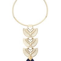 Aida Tassel Pendant Necklace