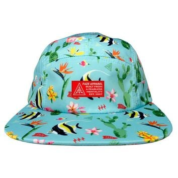 In A Fishbowl 5-Panel Hat in light blue