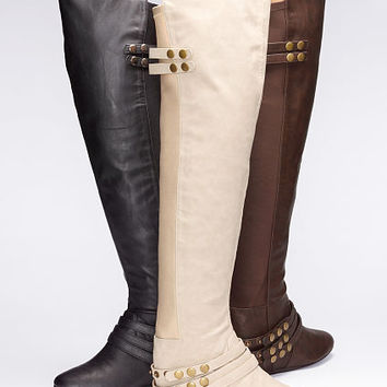 Studded Over-the-knee Boot - Colin Stuart - Victoria's Secret