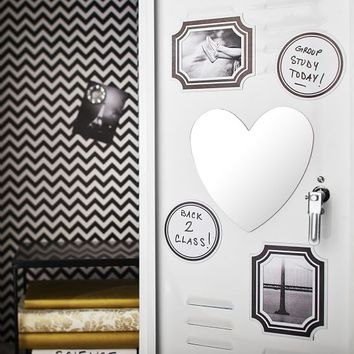 Locker Decor Bundle, Black