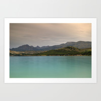 """""""Calm before the storm at the lake"""" Art Print by Guido Montañés"""